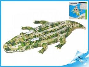 Krokodýl nafukovací s úchyty 175x102cm