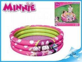 Bazén Minnie 102x25cm 3 komory