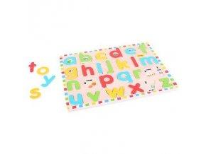 new bigjigs toys bj757 inset puzzle lowercase alphabet f8370332b1d1818070f5dc740b36f569