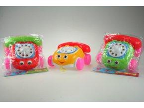 Tahací telefon (Barva Žlutá)