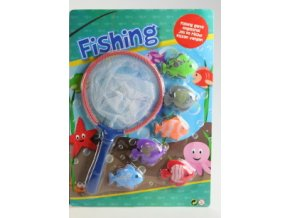 Rybolov vodní hra - modrá
