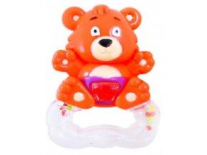 Chrastítko medvěd oranžový