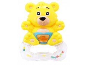 Chrastítko medvěd žlutý