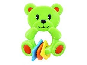 Chrastítko medvídek zelený