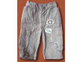 Kalhoty hnědé, Matalan, vel. 74
