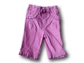 Kalhoty růžové, Baby Boutique, vel. 62