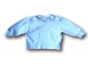 Tričko modré - velur