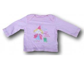 Tričko růžové, F&F, vel. 62
