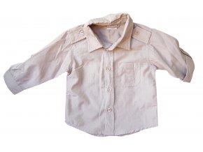 Hnědá košile Ethel Austin, velikost 86