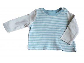 Tričko s modrými pruhy, velikost 56