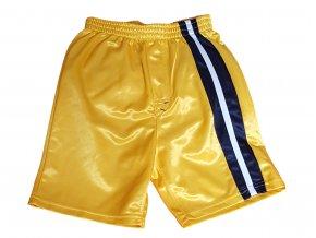 Žluté sportovní kraťasy, Nickelodeon, vel. 122