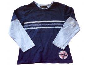 Tričko tmavě modré, George, vel. 104