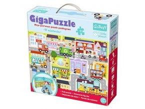 Giga puzzle MĚSTEČKO - 12 dílků