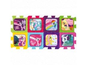 Pěnové puzzle My little Pony - 8 dílků