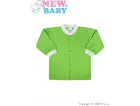 Kojenecký kabátek New Baby Zebrababy zelený (Velikost 74)