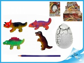 Dinosaurus líhnoucí a rostoucí JUMBO