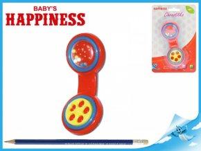 Chrastítko telefon 13cm Baby´s Happiness