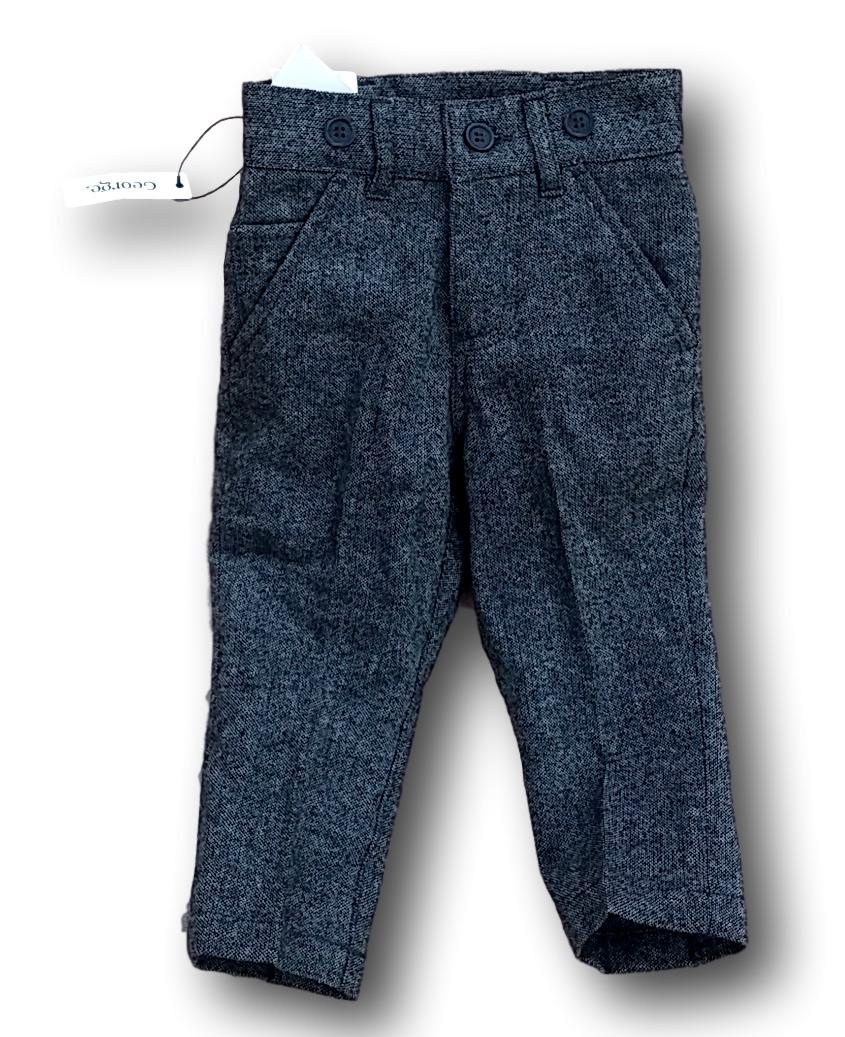 Kalhoty společenské šedé, George, vel. 80