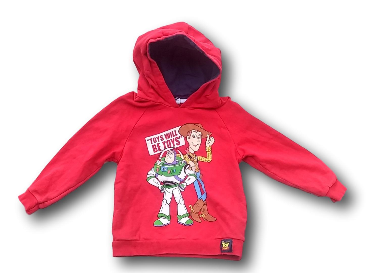 Mikina s kapucí červená - Toy Story, Disney Pixar at george, vel. 104