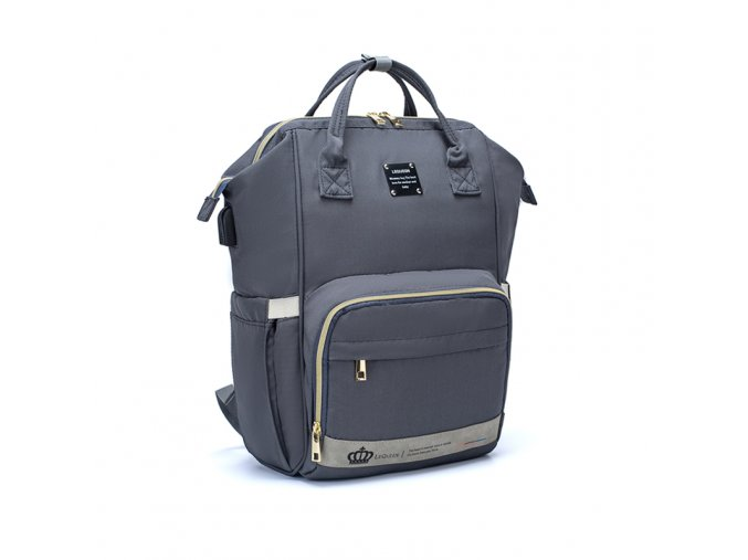 Přebalovací batoh Grey LeQueen
