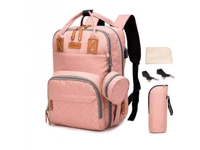 Přebalovací batoh Easy Worker Pink