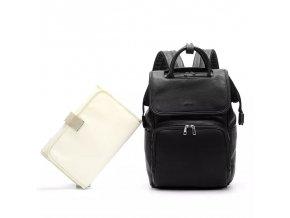 Přebalovací batoh Black Leather
