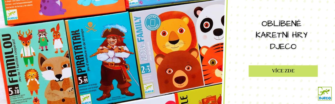 Karetní hry pro děti Djeco