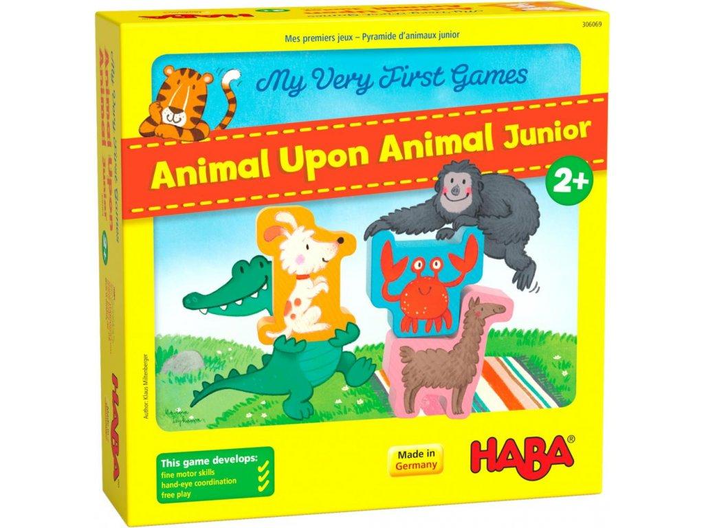306069 Haba Moja prva hra na rozvoj motoriky Zviera na zviera 01