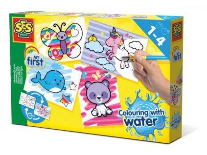 SES Moje první malování štětcem a vodou - fantastická zvířata