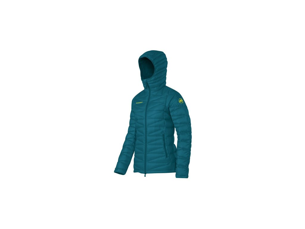 opplanet mammut miva is hooded jacket womens dark pacific x small main