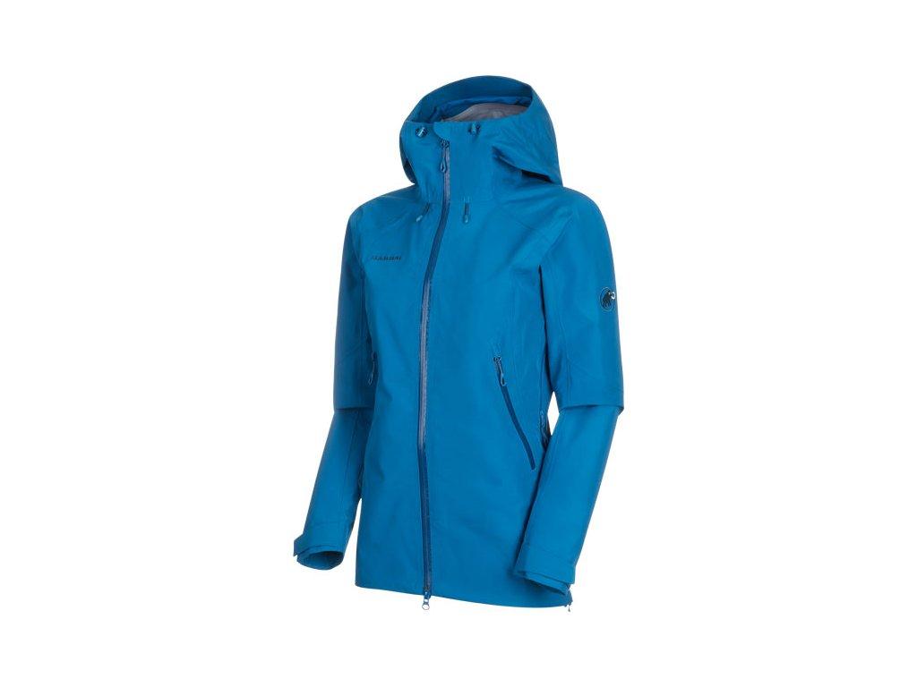 Mammut Ridge HS Hooded Jacket Women (Barva - Velikost Růžová - XS)