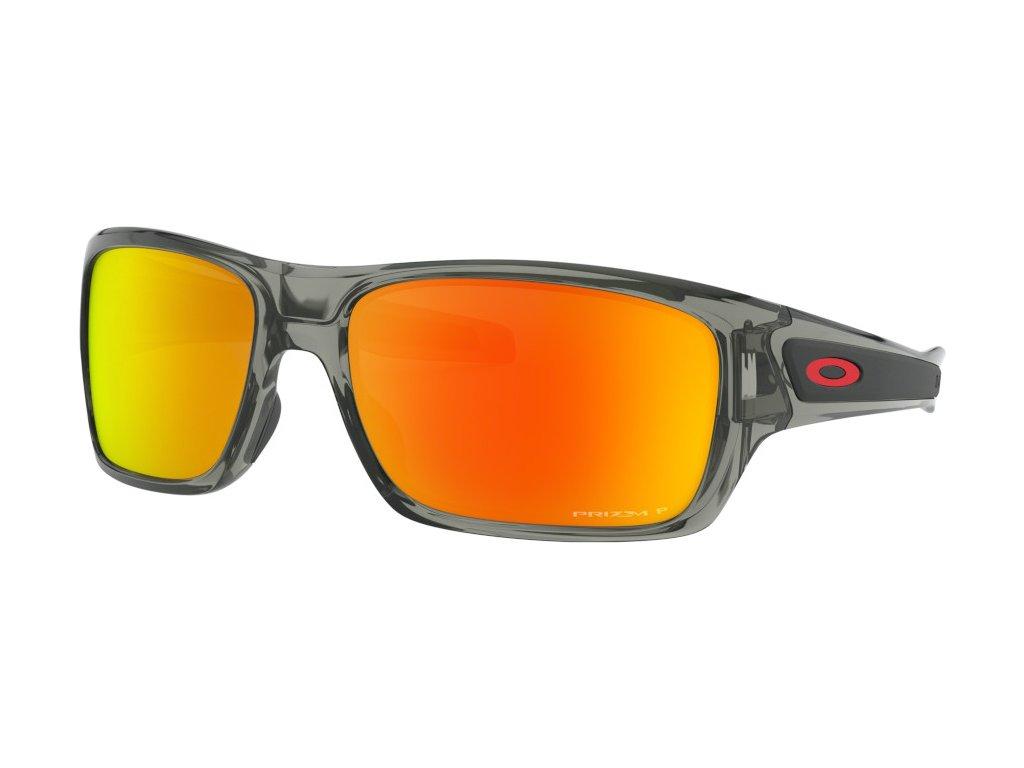 oakley sunglasses turbine grey ink prizm ruby polarized oo9263 5763