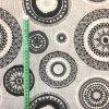 Bavlna režná šedé mandaly 2
