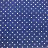 Bavlna puntíčky na modré