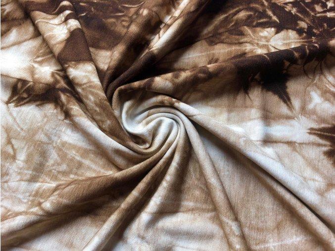 bambusovy uplet tmave hneda batika1