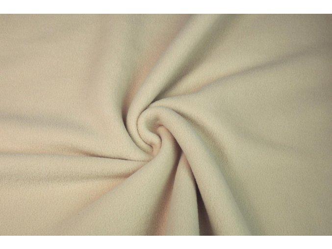 Fleece bílá káva