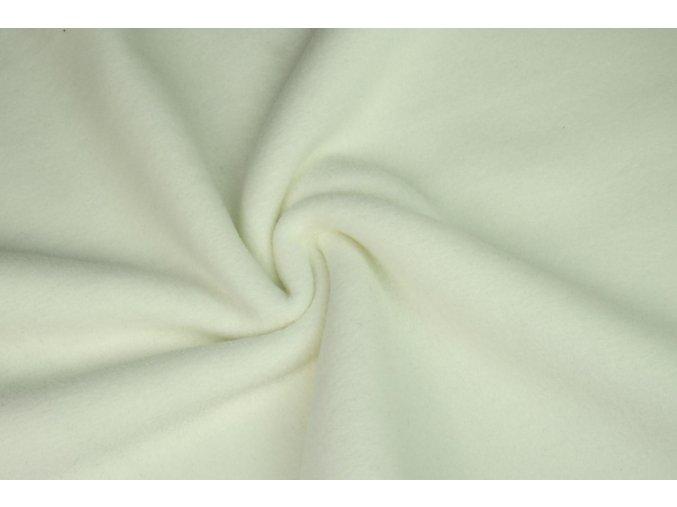 Fleece smetanová přirodní