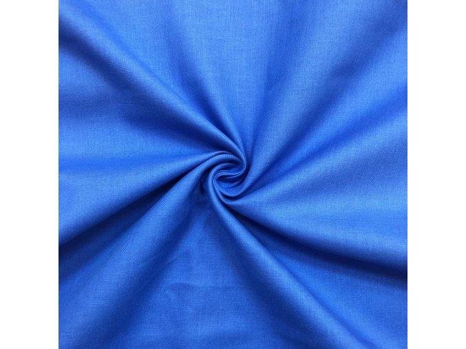 bavlnene platno kralovsky modre 2