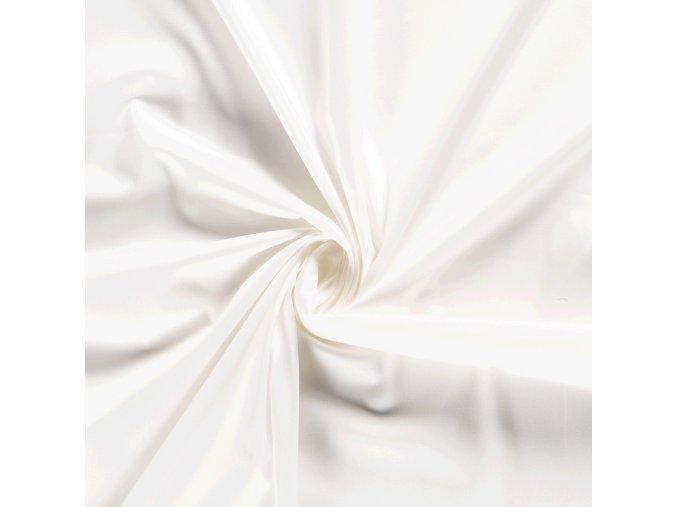 bavlneny saten elasticky bily