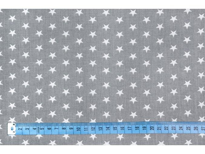 bavlnene platno male bile hvezdy na bezove metraz