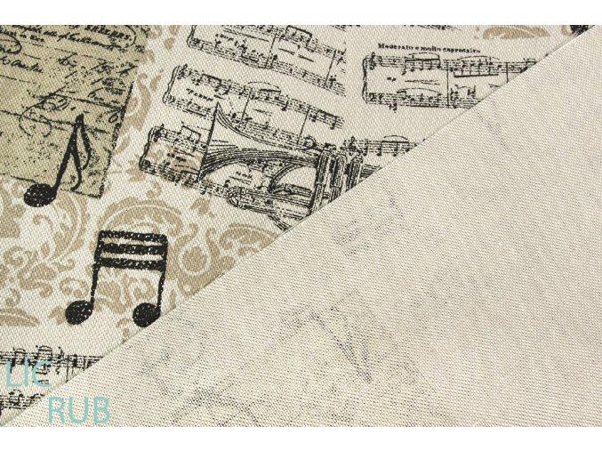 bavlna režná hudba