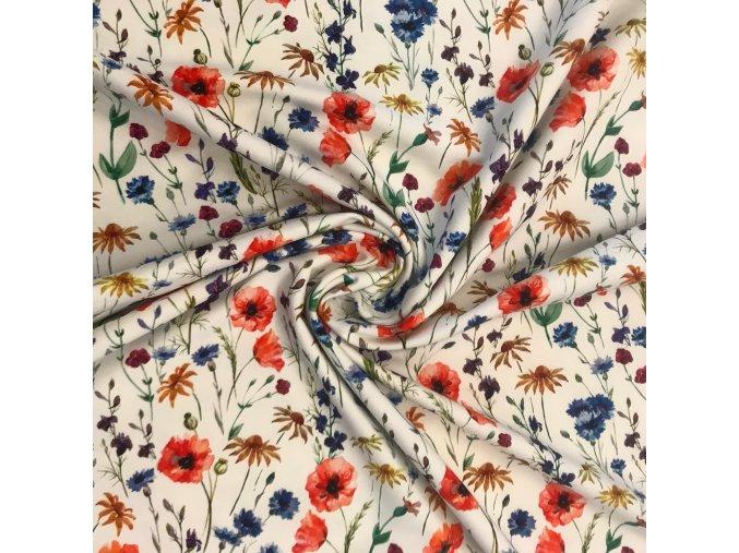teplakovina kvety vlcich maku metraz