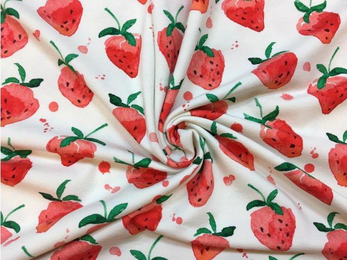 bavlneny uplet jahody na smetanove4