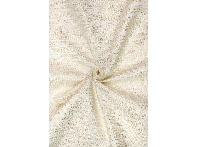 bavlna rezna zlata vytkavana nitka na ecru 2