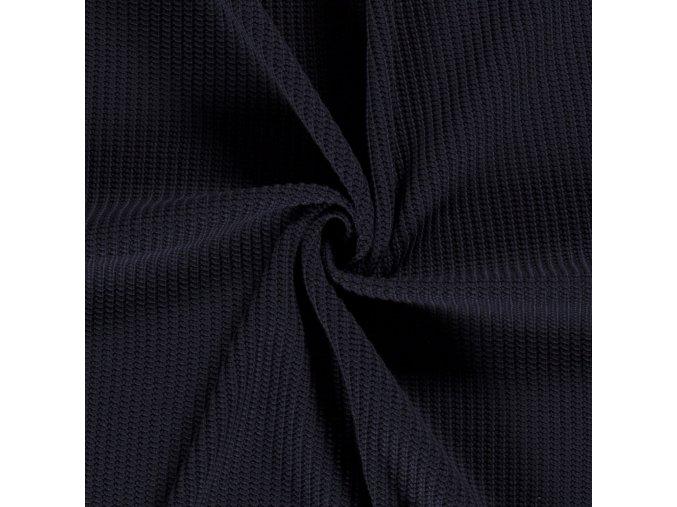 svetrovina vzhled pletena tmave modra