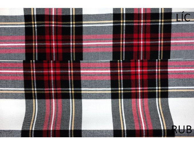 moderni kostymovka kostka cervena