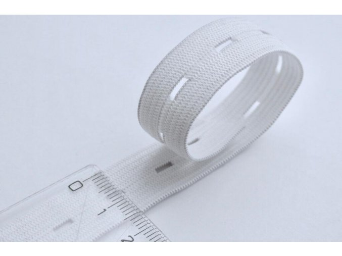 pruženka dirková 15 mm bílá