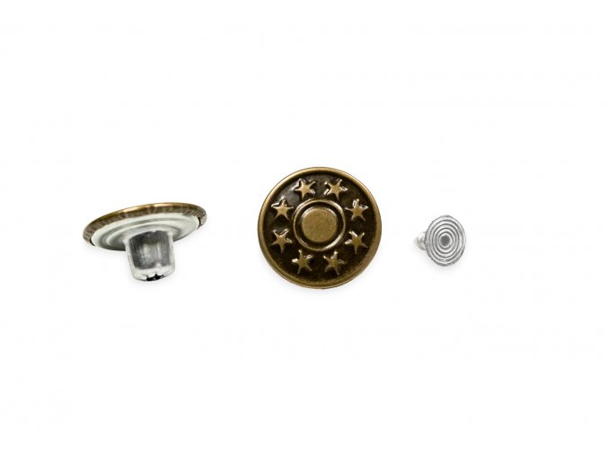 nytovaci knoflik riflovy velikost 32