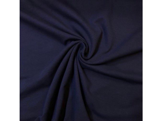 teplakovina pocesana gots modra navy