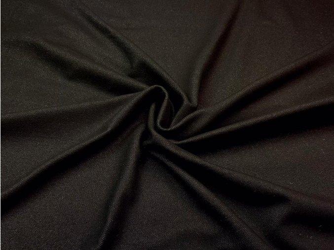 bavlneny uplet vysokogramazni jeans cerny